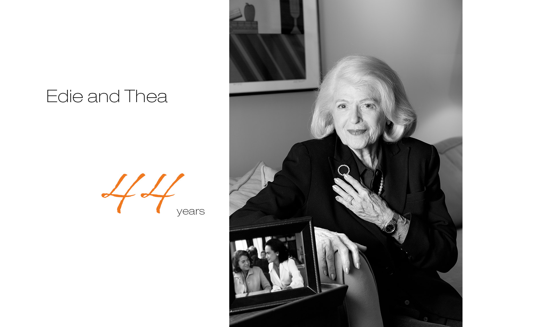 EdieandThea_44yrs, Edie Windsor and Thea Spyer, First Comes Love,  LGBTQ Couple