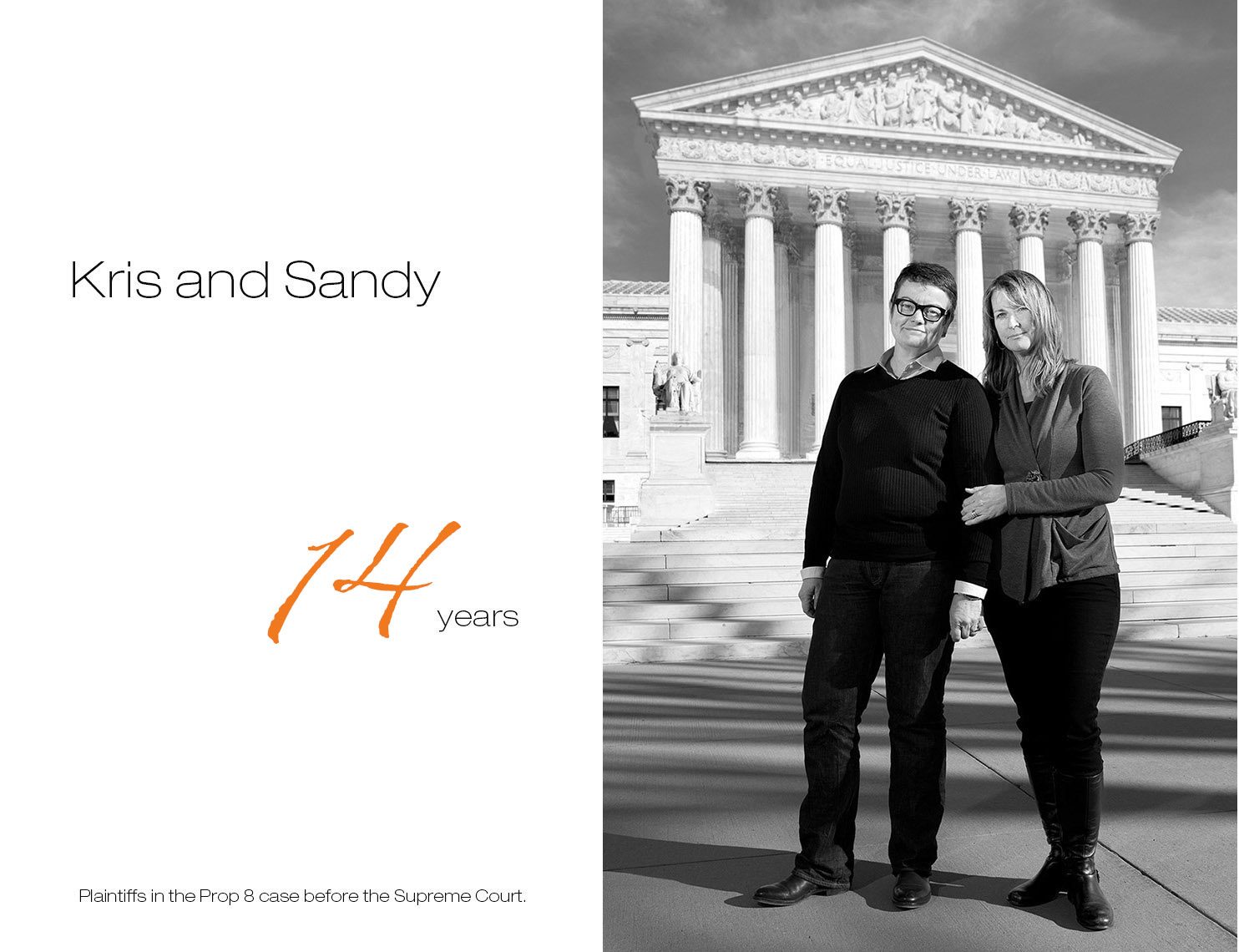 KrisandSandy, together 14yrs, First Comes Love,  LGBTQ Couple